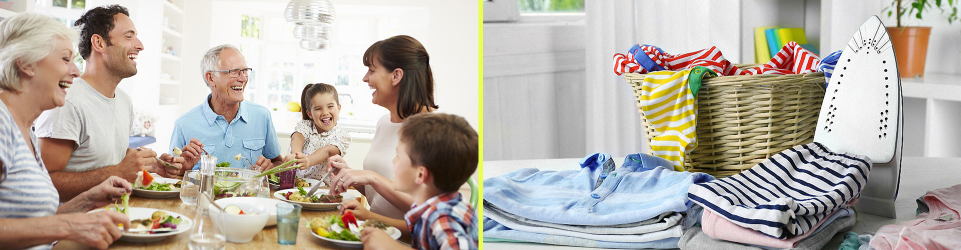 Soziale Dienste Versorgung der Familie
